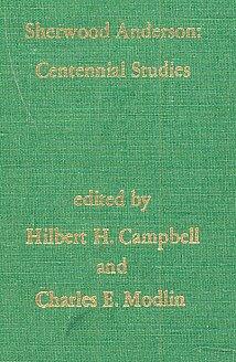 9780878750931: Sherwood Anderson: Centennial studies