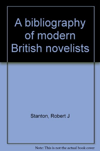 A bibliography of modern British novelists. COMPLETE SET