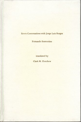 9780878752140: Seven Conversations With Jorge Luis Borges