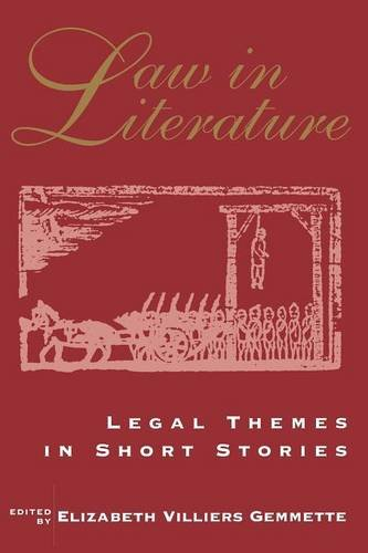 9780878754724: Law in Literature : Legal Themes in Short Stories