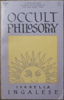 9780878770496: Occult Philosophy