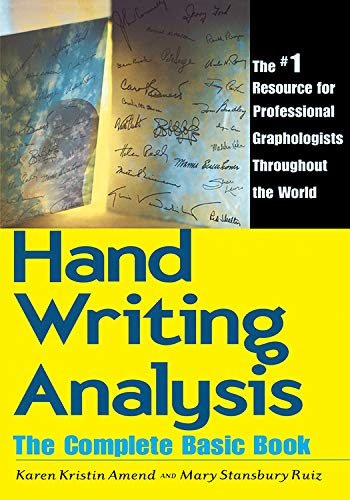 9780878770502: Handwriting Analysis: The Complete Basic Book