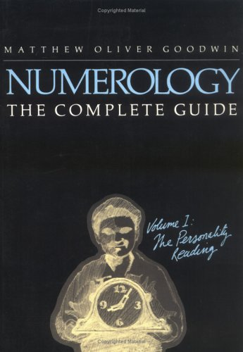 9780878770533: Numerology the Complete Guide, Volume I: The Personality Reading