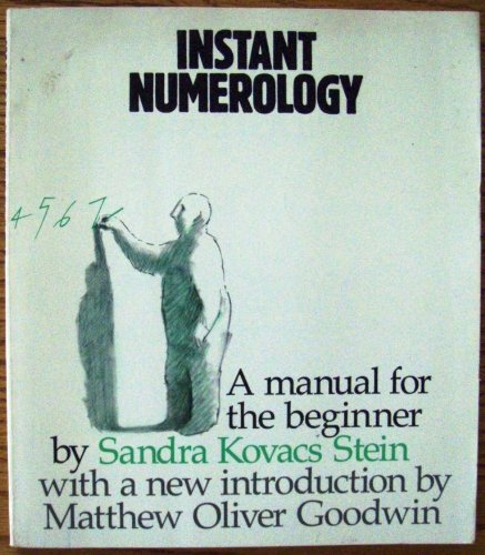 9780878770892: Instant Numerology: A Manual for the Beginner