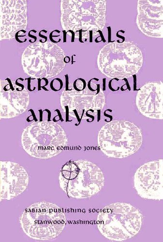 9780878780112: Essentials of Astrological Analysis: Illustrated in the Horoscopes of 174 Well-known People