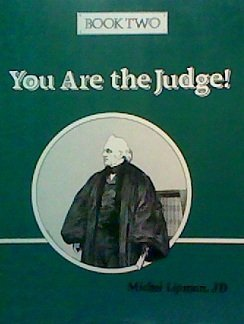 You Are the Judge (Bk 2): Lipman, Michel, Furniss,