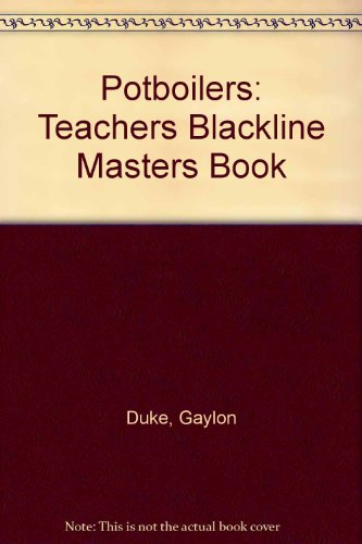 9780878796250: Potboilers: Teachers Blackline Masters Book