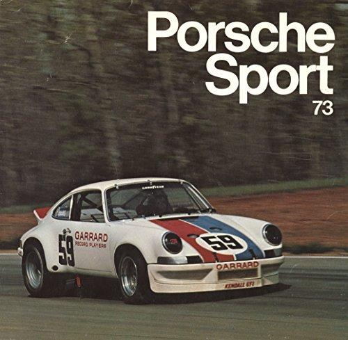 9780878800230: Porsche Sport '73
