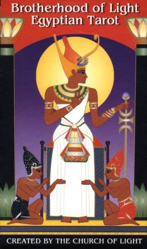 9780878870042: Brotherhood of Light Egyptian Tarot Cards