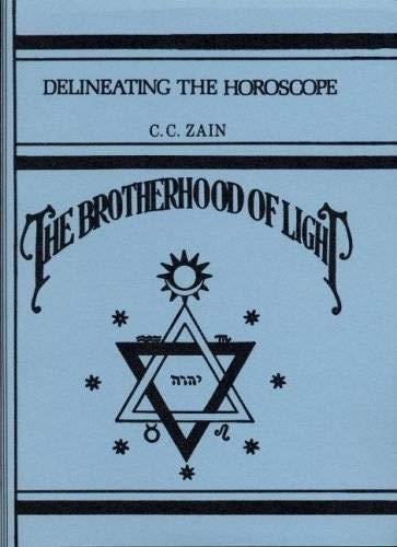 9780878873418: Delineating the horoscope (Brotherhood of Light)