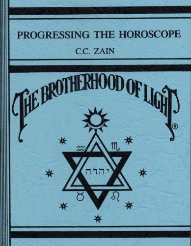 Progressing the horoscope (Brotherhood of Light): Benjamine, Elbert