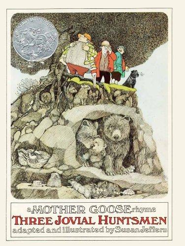 9780878880232: Three Jovial Huntsmen, A Mother Goose Rhyme