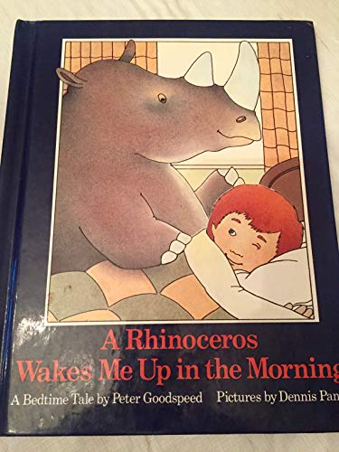 9780878882014: A Rhinoceros Wakes Me Up in the Morning: A Bedtime Tale
