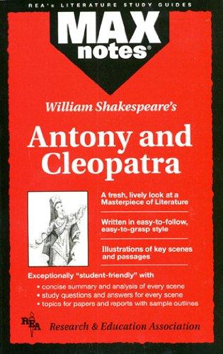 9780878910021: Antony and Cleopatra (MAXNotes Literature Guides)
