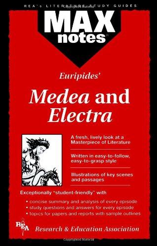 Max Notes Euripides Medea and Electra: Underiner, Tamara L
