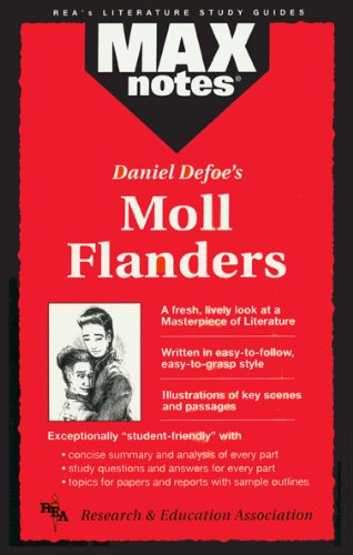 9780878910311: Moll Flanders (MaxNotes)