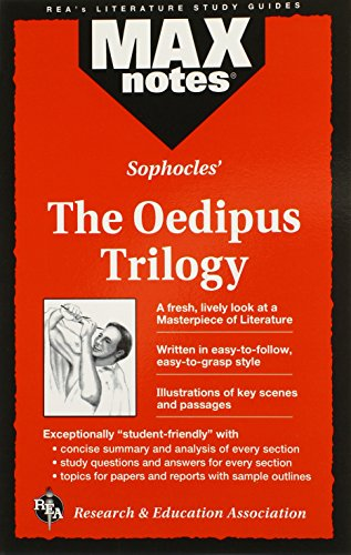 9780878910366: Oedipus Trilogy, The (MAXNotes Literature Guides)