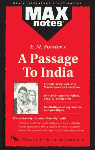 9780878910397: Passage to India, A (MAXNotes Literature Guides)