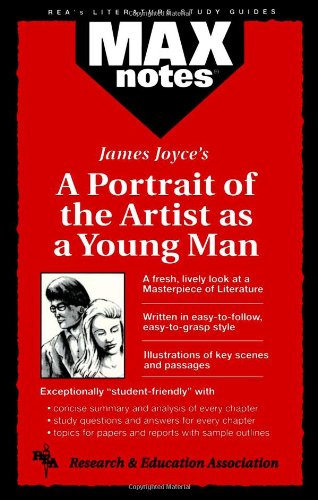 9780878910410: Portrait of the Artist as a Young Man, A (MAXNotes Literature Guides)