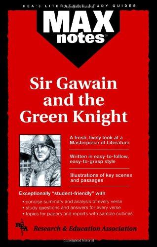 9780878910441: Sir Gawain and the Green Knight (MAXNotes Literature Guides)