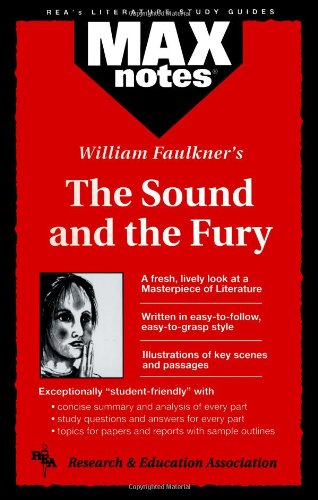 9780878910472: Sound and the Fury, The (MAXNotes Literature Guides)