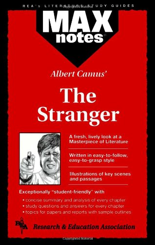 The Stranger: Maxnotes Literature Study Guides (Paperback): Research Education Association,