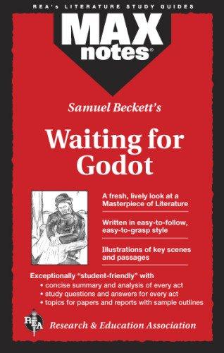 9780878910571: Waiting for Godot (Maxnotes Literature Guides)