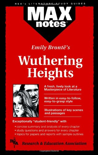 Wuthering Heights (MAXNotes Literature Guides) (0878910581) by Research and Education Association Staff