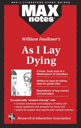 9780878910595: As I Lay Dying (MAXNotes Literature Guides)