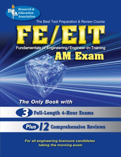 9780878910779: FE - EIT: AM (Engineer in Training Exam) (Engineering (FE/EiT) Test Preparation)