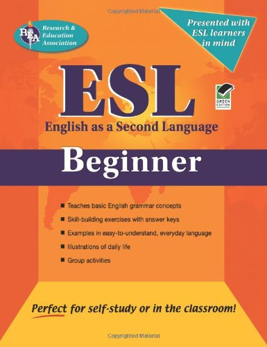 Esl Beginner English As A Second Languag