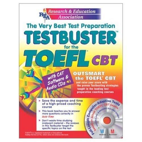 TOEFL Testbuster w/ CD-ROM (REA) - Testbuster for the TOEFL (Test Preps): The Editors of REA