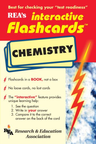 9780878911547: Chemistry Interactive Flashcards Book (Flash Card Books)