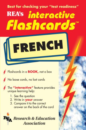 9780878911592: French Interactive Flashcards Book (Flash Card Books)