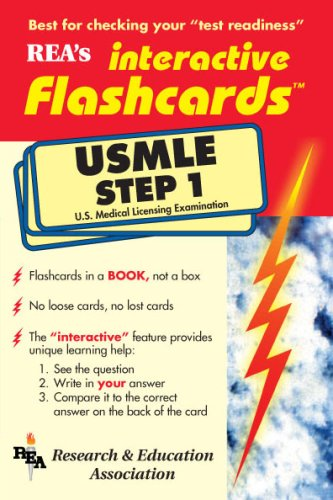 9780878911677: USMLE Step 1 Interactive Flashcards Book (Flash Card Books) (Pt.1)