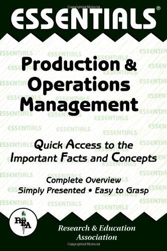 Production & Operations Management Essentials (Essentials Study: Sai Kolli Ph.D.