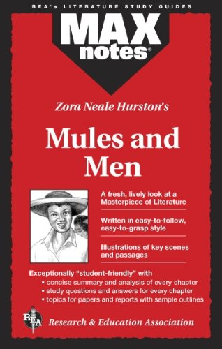 9780878912285: Zora Neale Hurston's Mules and Men (MAXnotes)