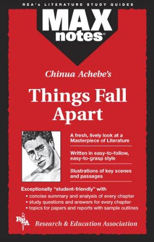 9780878912339: Things Fall Apart (MAXNotes Literature Guides)