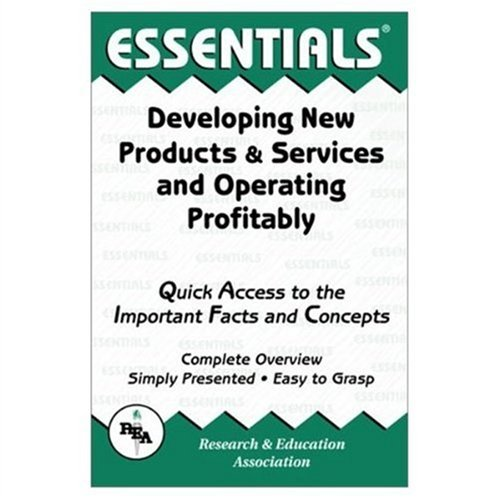 9780878912476: Developing New Products & Services and Operating Profitably Essentials