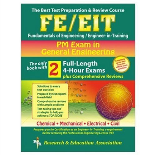 9780878912612: FE-EIT PM - General Engineering (REA) - The Best Test