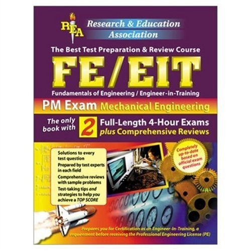 9780878912629: FE/EIT PM : Mechanical Engineering, The Best Test Preparation