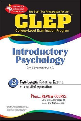 9780878912742: CLEP Introductory Psychology (REA) - The Best Test Prep for the CLEP (CLEP Test Preparation)
