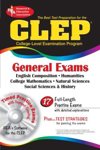 CLEP General Exams w/ CD-ROM (CLEP Test: Alvarez M.A., Joseph