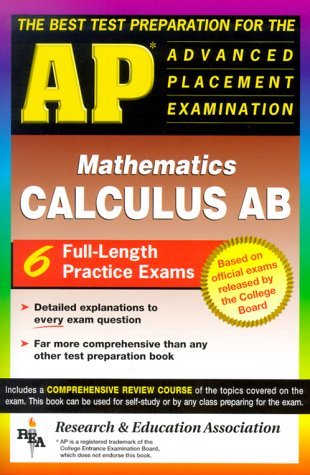 9780878912827: AP Calculus AB (REA) - The Best Test Prep for