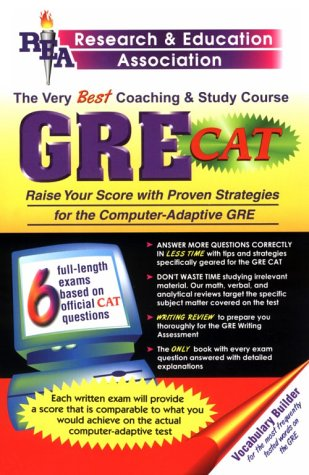 9780878912896: The Very Best Coaching And Study Course GRE CAT