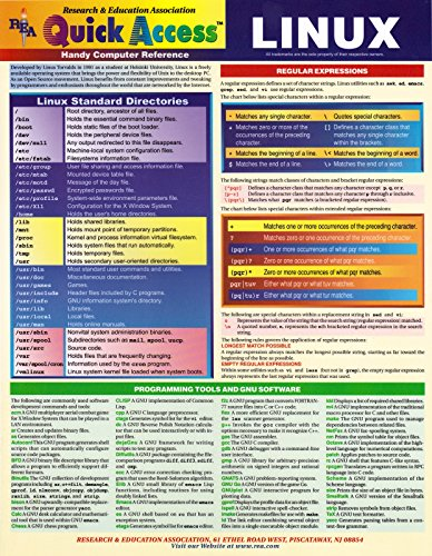 9780878913107: Linux Quick Access (Quick Access Reference Charts)