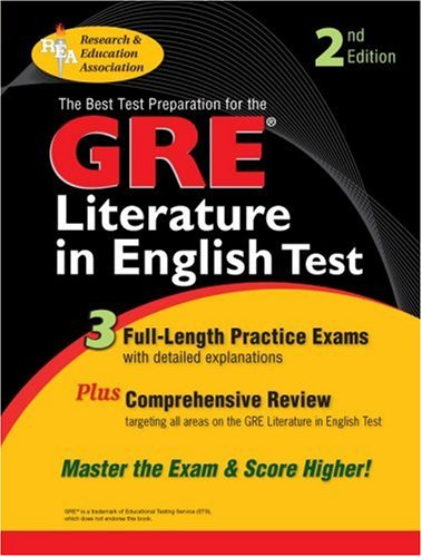 9780878913466: GRE Literature in English (GRE Test Preparation)