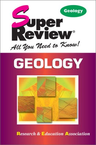 9780878913886: Geology Super Review (Super Reviews Study Guides)