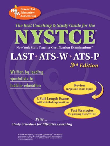 9780878914043: NYSTCE LAST, ATS-W, ATS-P (REA) - The Best Test Prep for the NYSTCE: LAST/ATS W & P (NYSTCE Teacher Certification Test Prep)