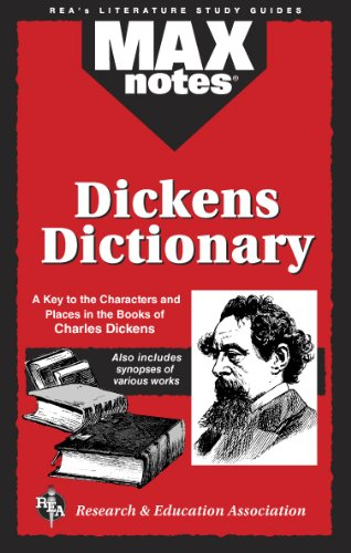 9780878914067: Dickens Dictionary (MAXNotes Literature Guides)